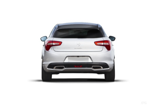 CITROEN DS5 hatchback silver grey tylny