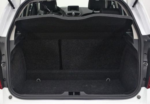 RENAULT Clio III II hatchback biały przestrzeń załadunkowa