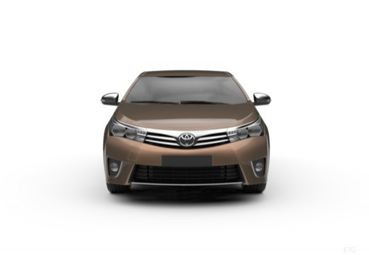 Toyota Corolla III sedan przedni