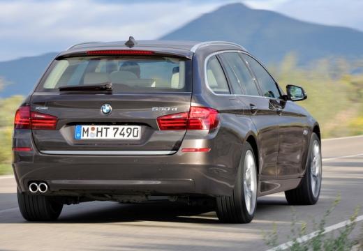 BMW Seria 5 Touring F11 II kombi brązowy tylny prawy