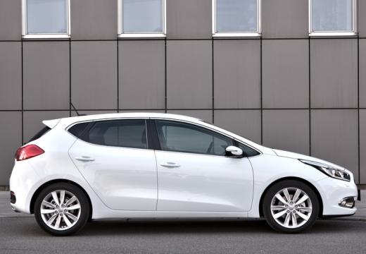 KIA Ceed III hatchback biały boczny prawy