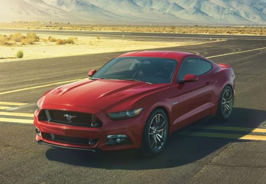 FORD Mustang Fastback I coupe czerwony jasny przedni lewy