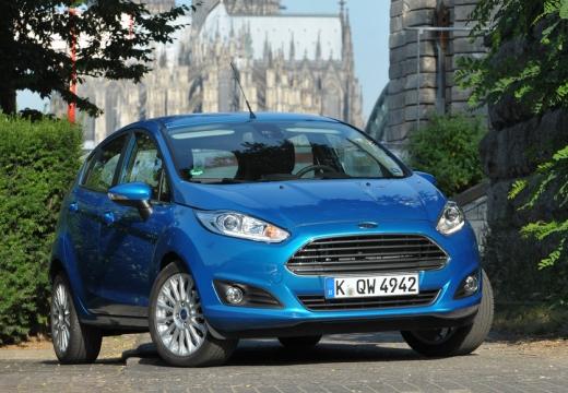FORD Fiesta VIII hatchback niebieski jasny przedni prawy