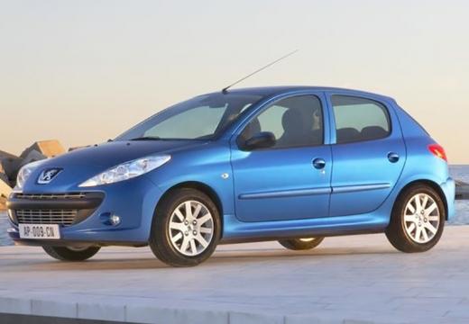 PEUGEOT 206+ I hatchback niebieski jasny