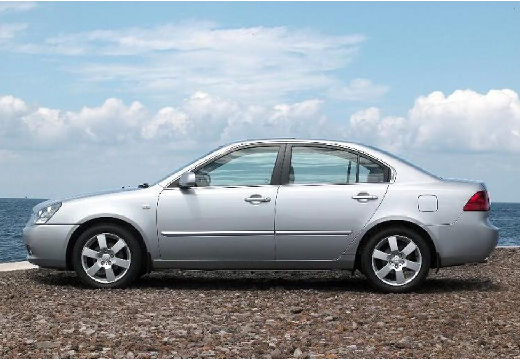 KIA Magentis III sedan silver grey boczny lewy