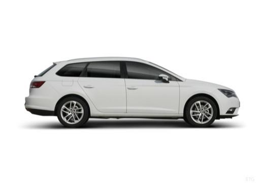 SEAT Leon ST I kombi biały boczny prawy