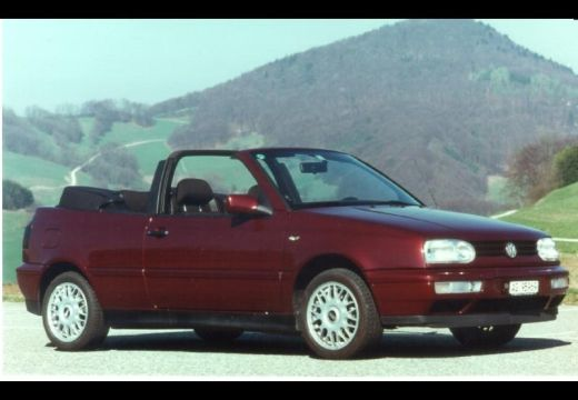 VOLKSWAGEN Golf Cabriolet III kabriolet bordeaux (czerwony ciemny) przedni prawy