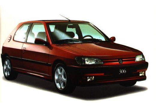 PEUGEOT 306 I hatchback przedni prawy
