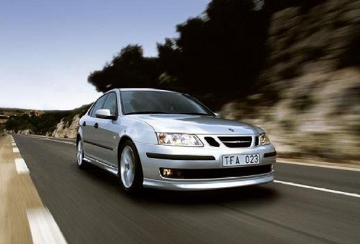 SAAB 9-3 Sport I sedan silver grey przedni prawy