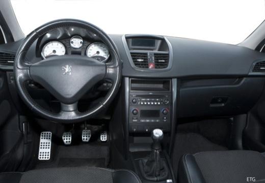 PEUGEOT 207 I hatchback tablica rozdzielcza