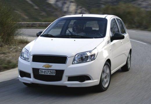 CHEVROLET Aveo II hatchback biały przedni lewy