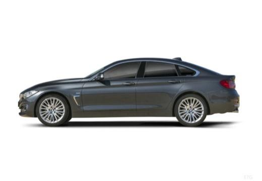 BMW Seria 4 Gran Coupe F36 I hatchback boczny lewy