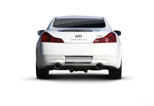 INFINITI G37 coupe biały tylny