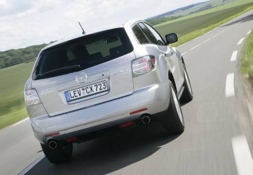 MAZDA CX-7 kombi silver grey tylny prawy