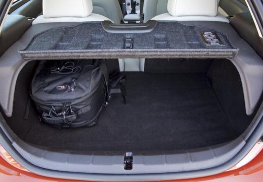 VOLVO C30 II hatchback pomarańczowy przestrzeń załadunkowa