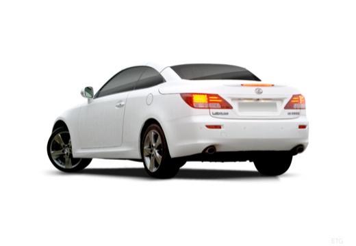 LEXUS IS C kabriolet biały tylny lewy