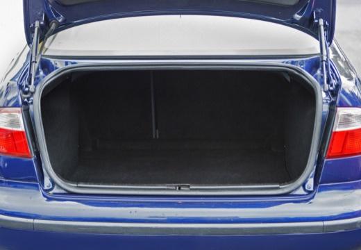 SEAT Toledo II sedan przestrzeń załadunkowa