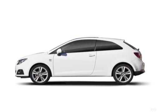 SEAT Ibiza V hatchback biały boczny lewy
