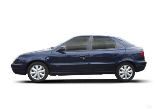 CITROEN Xsara II hatchback boczny lewy