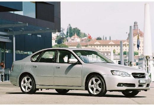 SUBARU Legacy VI sedan silver grey przedni prawy