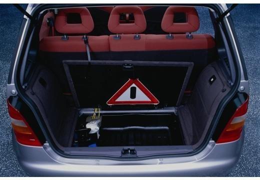 MERCEDES-BENZ Klasa A W 168 I hatchback przestrzeń załadunkowa