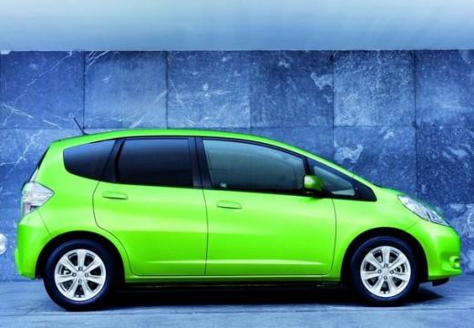 HONDA Jazz III hatchback zielony boczny prawy