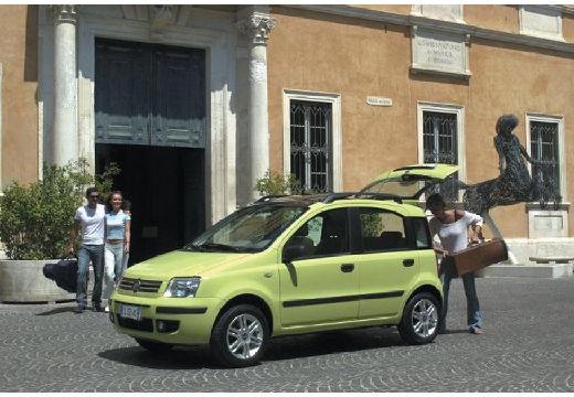 FIAT Panda II hatchback zielony przedni lewy