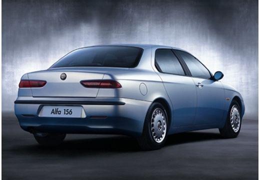 ALFA ROMEO 156 I sedan silver grey tylny prawy