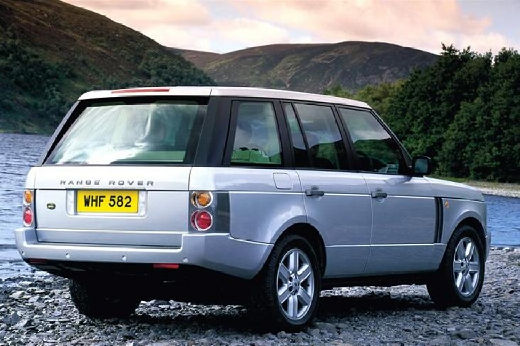 LAND ROVER Range Rover III kombi silver grey tylny prawy