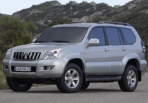 Toyota Land Cruiser 120 kombi silver grey