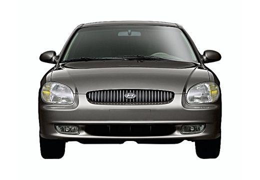 HYUNDAI Sonata IV sedan szary ciemny przedni