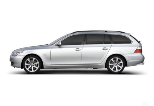 BMW Seria 5 Touring E61 II kombi boczny lewy