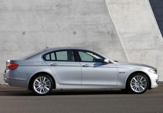 BMW Seria 5 F10 I sedan silver grey boczny prawy