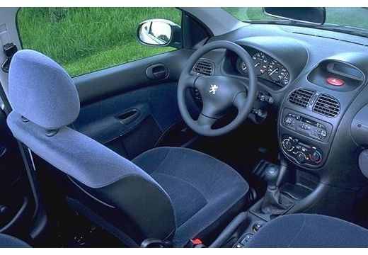 PEUGEOT 206 1.4 Happy ABS Hatchback II 75KM (benzyna)