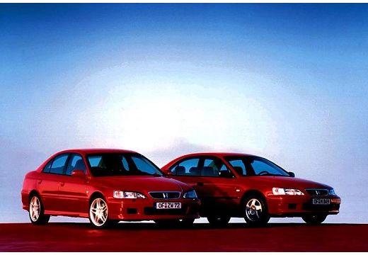 HONDA Accord IV sedan czerwony jasny przedni prawy
