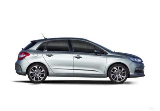 CITROEN C4 III hatchback silver grey boczny prawy