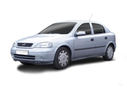 OPEL Astra II hatchback silver grey przedni lewy
