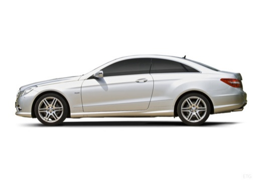 MERCEDES-BENZ Klasa E C 207 I coupe silver grey boczny lewy