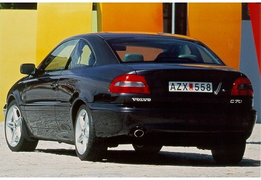 VOLVO C70 coupe czarny tylny lewy