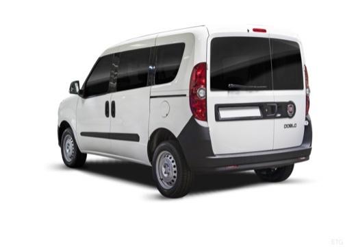 FIAT Doblo III kombi biały tylny lewy