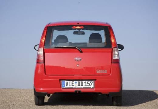DAIHATSU Cuore hatchback czerwony jasny tylny