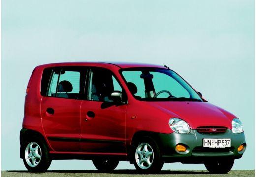 HYUNDAI Atos I hatchback czerwony jasny przedni prawy