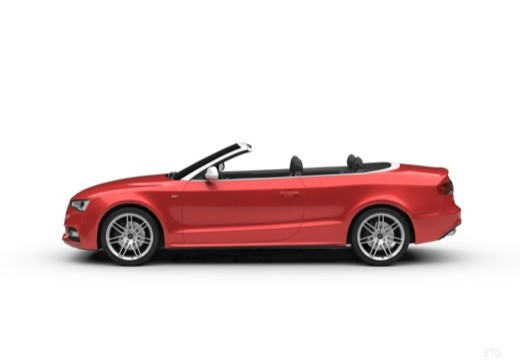 AUDI A5 Cabriolet II kabriolet boczny lewy