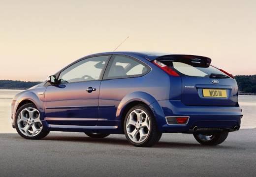 FORD Focus III hatchback niebieski jasny tylny lewy