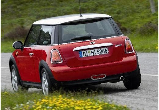 MINI [BMW] Mini MINI One III hatchback czerwony jasny tylny lewy