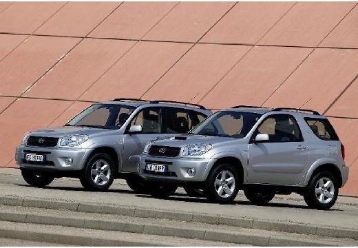 Toyota RAV4 III kombi silver grey przedni lewy