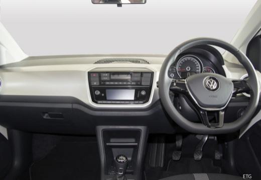 VOLKSWAGEN up e- FL hatchback biały tablica rozdzielcza