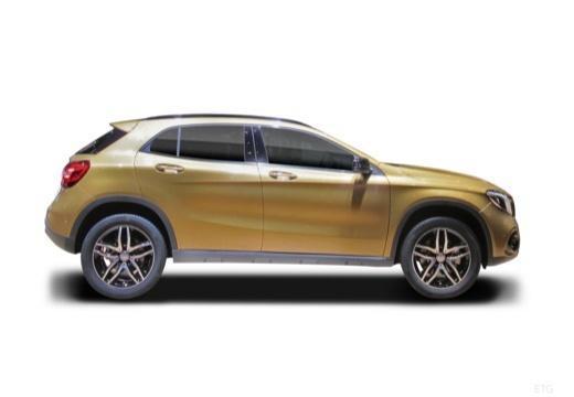 MERCEDES-BENZ Klasa GLA GLA 156 hatchback boczny prawy