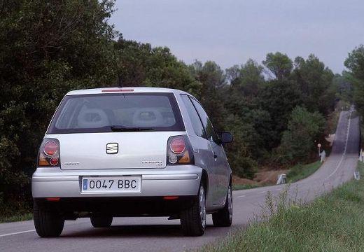 SEAT Arosa hatchback silver grey tylny prawy
