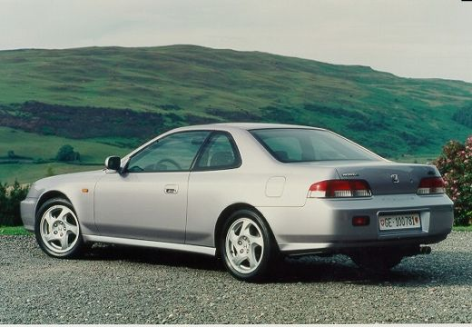 HONDA Prelude IV coupe silver grey tylny lewy